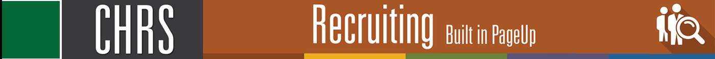 HSU CHRS Recruiting PageUp
